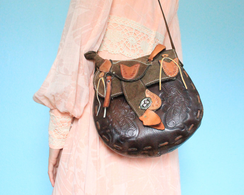 Mini Western Saddle Purse