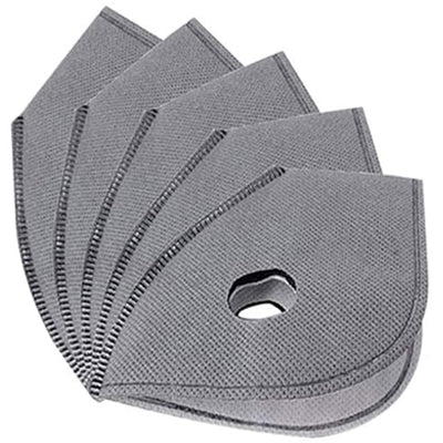 Replacement Filter 5 Pack for 2DAMAX Black Sports Mask