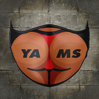 Y.A.M.S Sublimated Mask