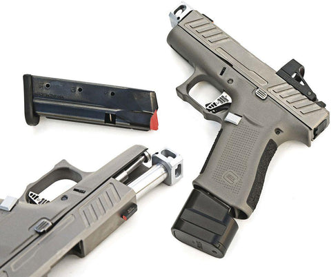Optimized Glock 43X Concealment Magazine Johnny Glock Trigger