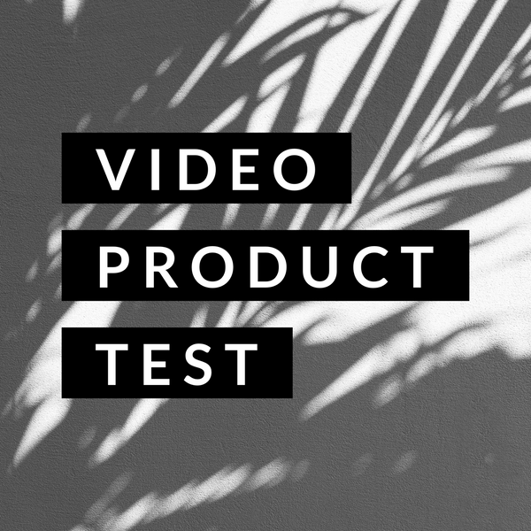 Test Product Video Stream
