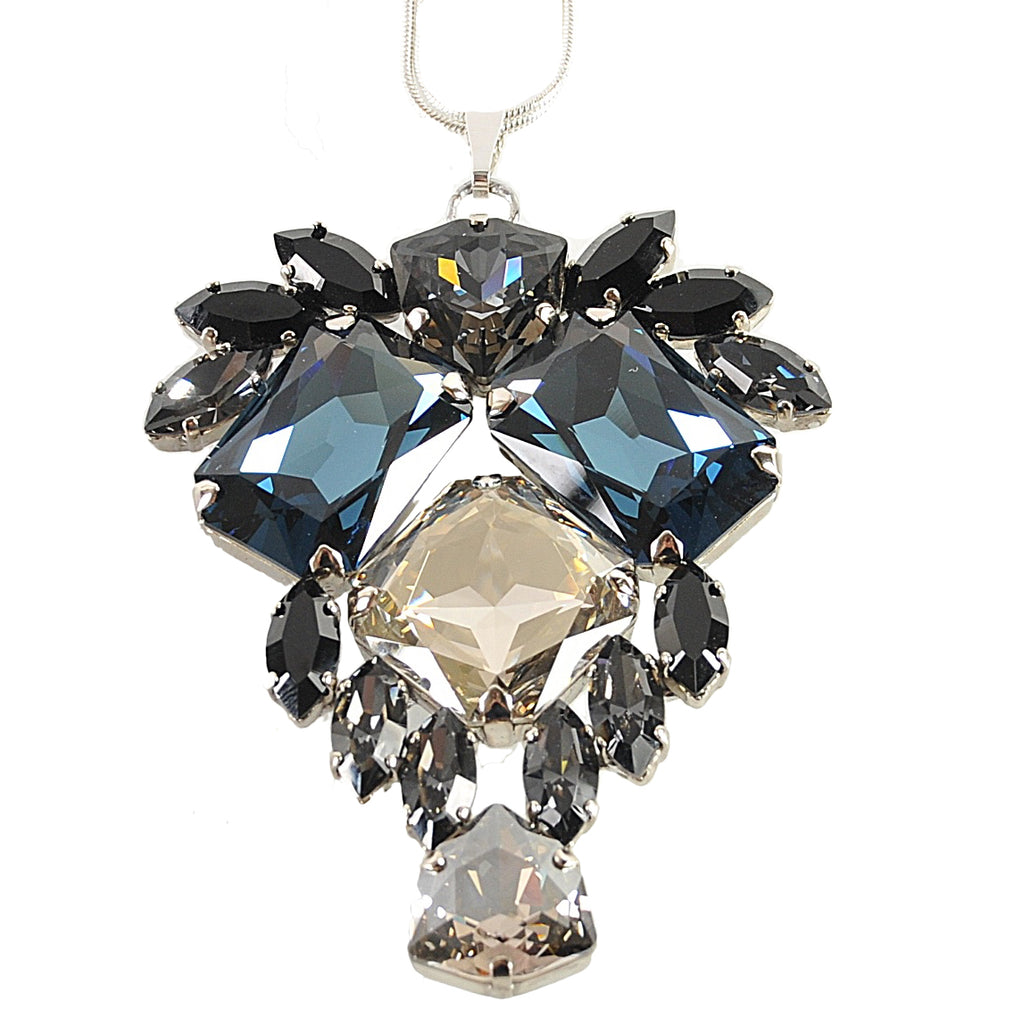 Crystal Montana Pendant Necklace