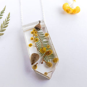 Wattle Garden Necklace