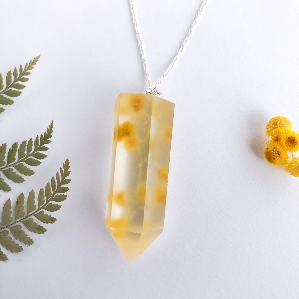 Wattle Crystal Necklace