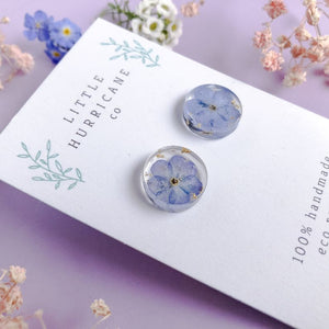 Button Studs - Forget me not