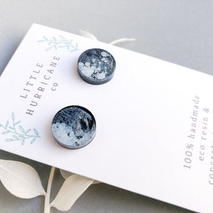 Stormy Nights - button studs