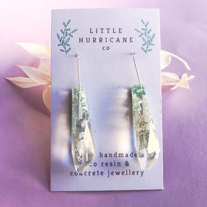 Jade Faceted Dangles