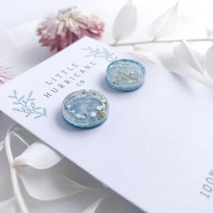 Bermuda Jellies - button studs - Little Hurricane Co