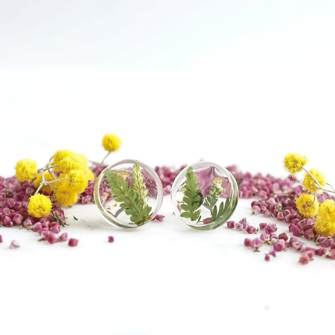 Button Studs - Foraged Fern - Little Hurricane Co