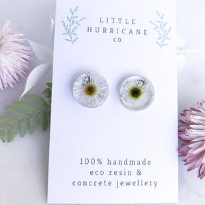 Button Studs - Mini Daisies - Little Hurricane Co