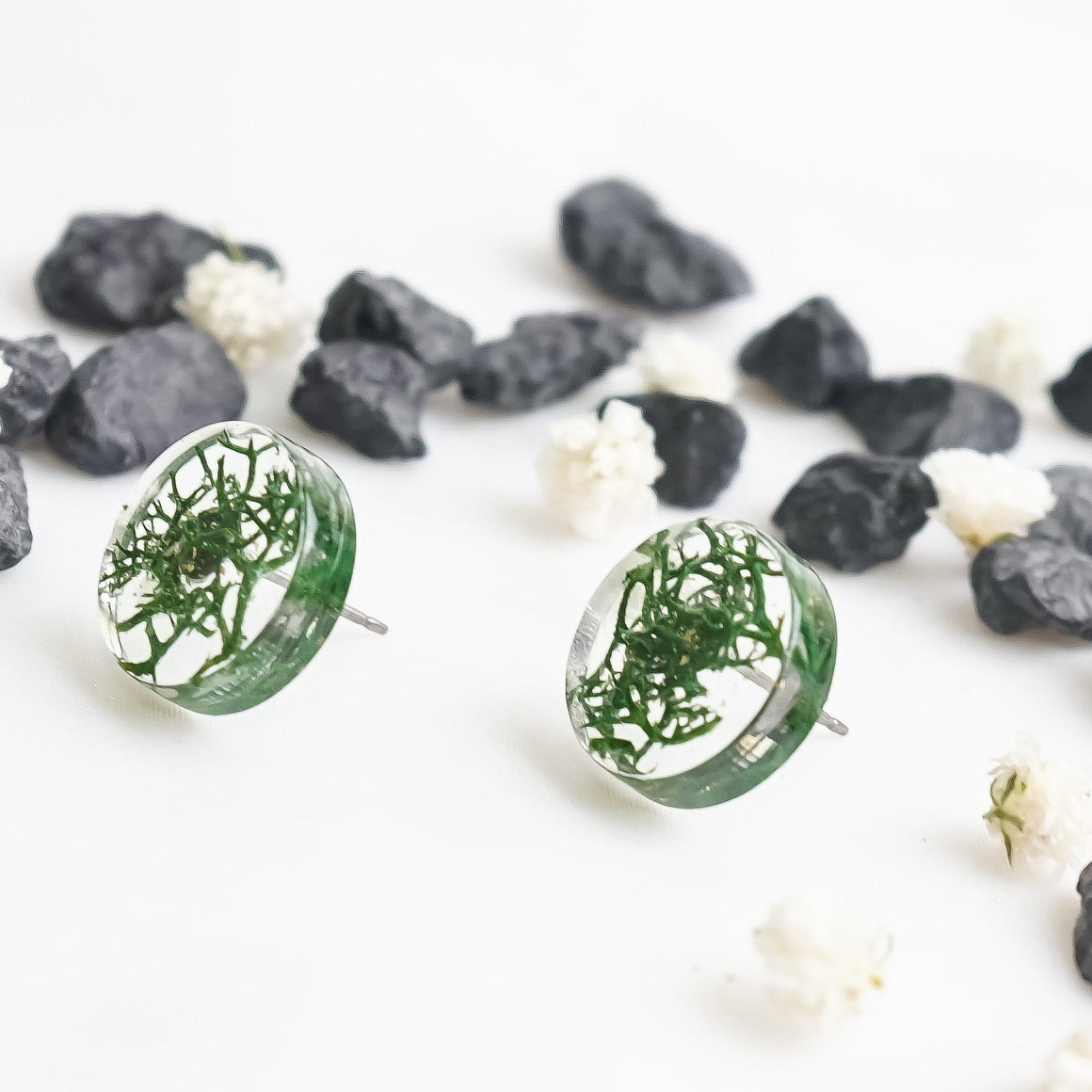 Button Studs - Reindeer Moss - Little Hurricane Co