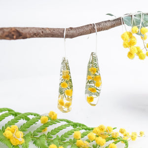 Faceted Dangles - Golden Wattle - Little Hurricane Co