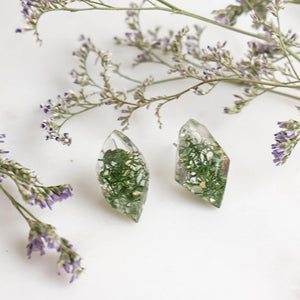 Faceted Studs - Reindeer Moss - Little Hurricane Co