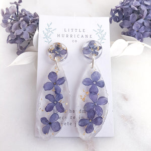 Floating Lilac Geode - Little Hurricane Co