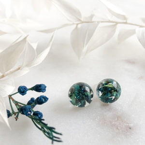 Sphere Studs - Blue Thryp - Little Hurricane Co