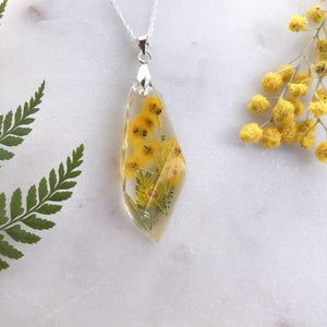 Wattle Shard  Necklace - Little Hurricane Co