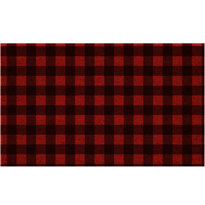 Buffalo Check, Plaid Coir Doormat