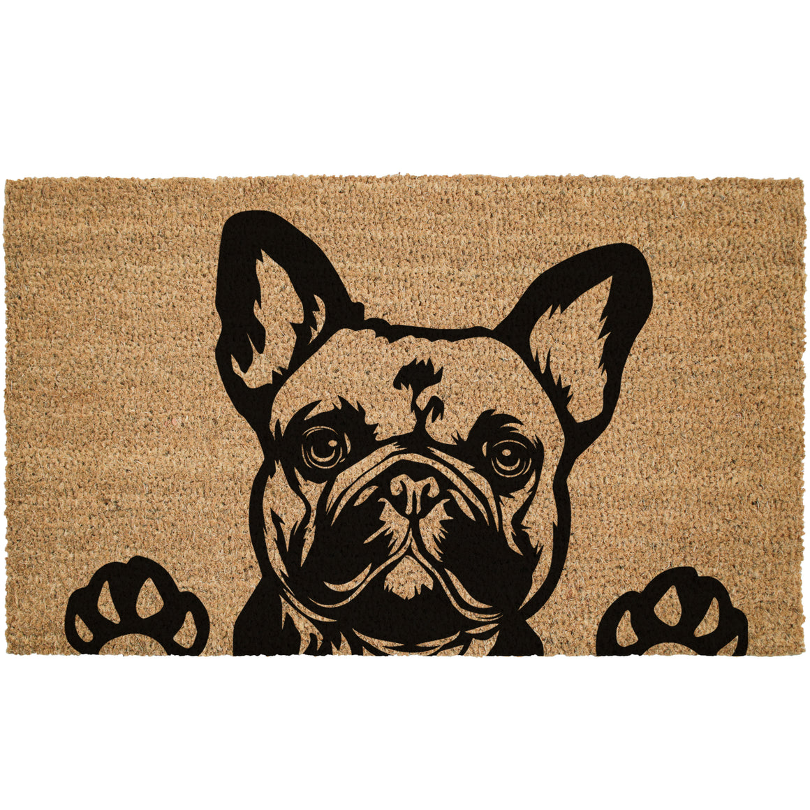 French Bulldog Coir Doormat