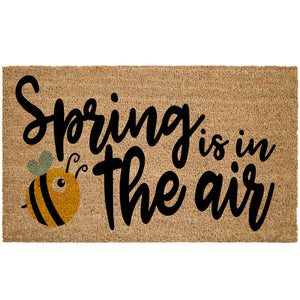 Spring Is In The Air Coir Doormat