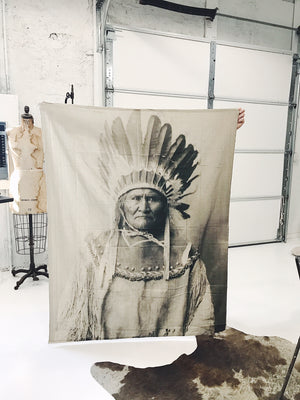 Geronimo, Native American Tapestry