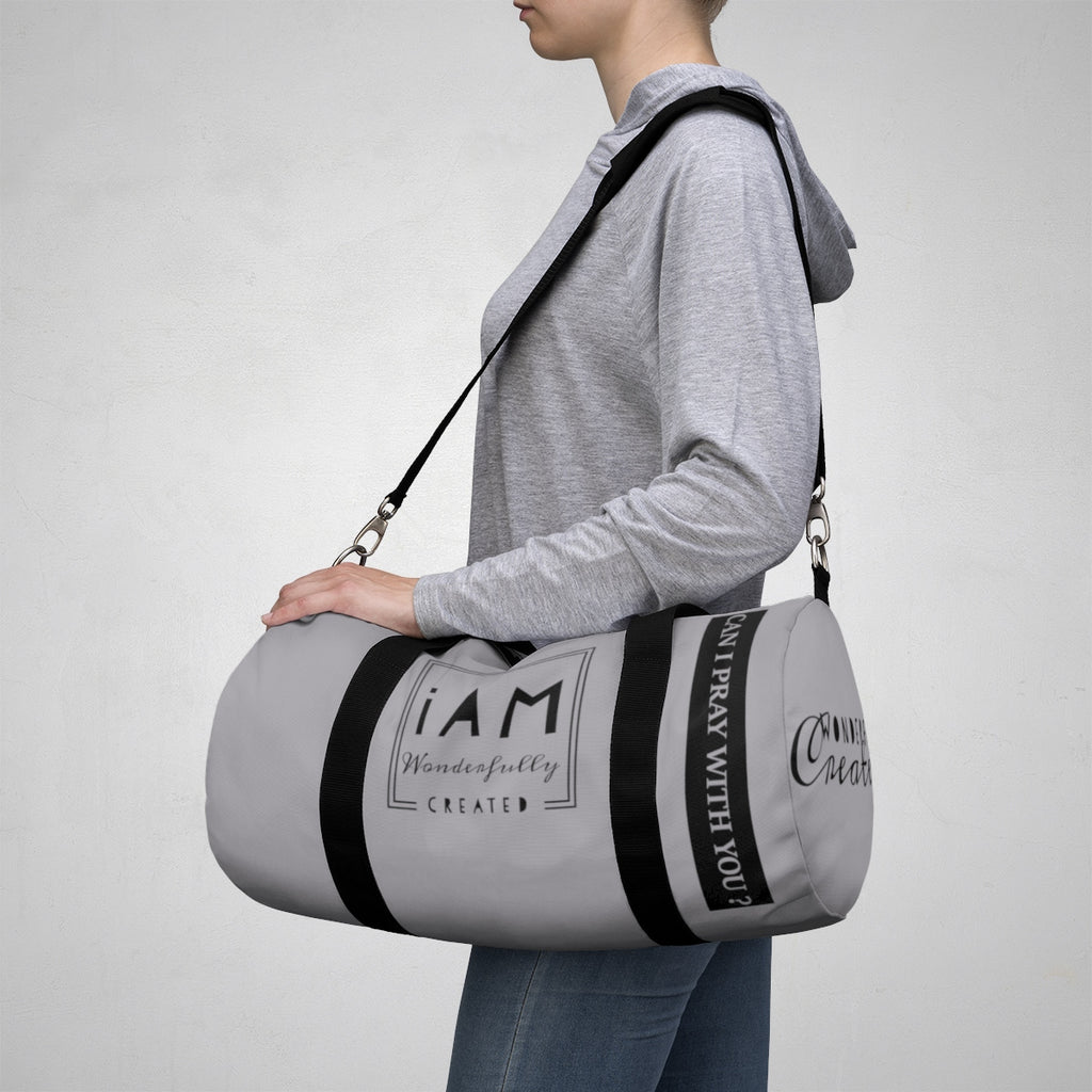 Wonderfully Created1 Duffle Bag