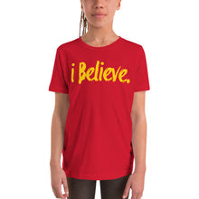 Load image into Gallery viewer, i Believe Youth Short Sleeve T-Shirt