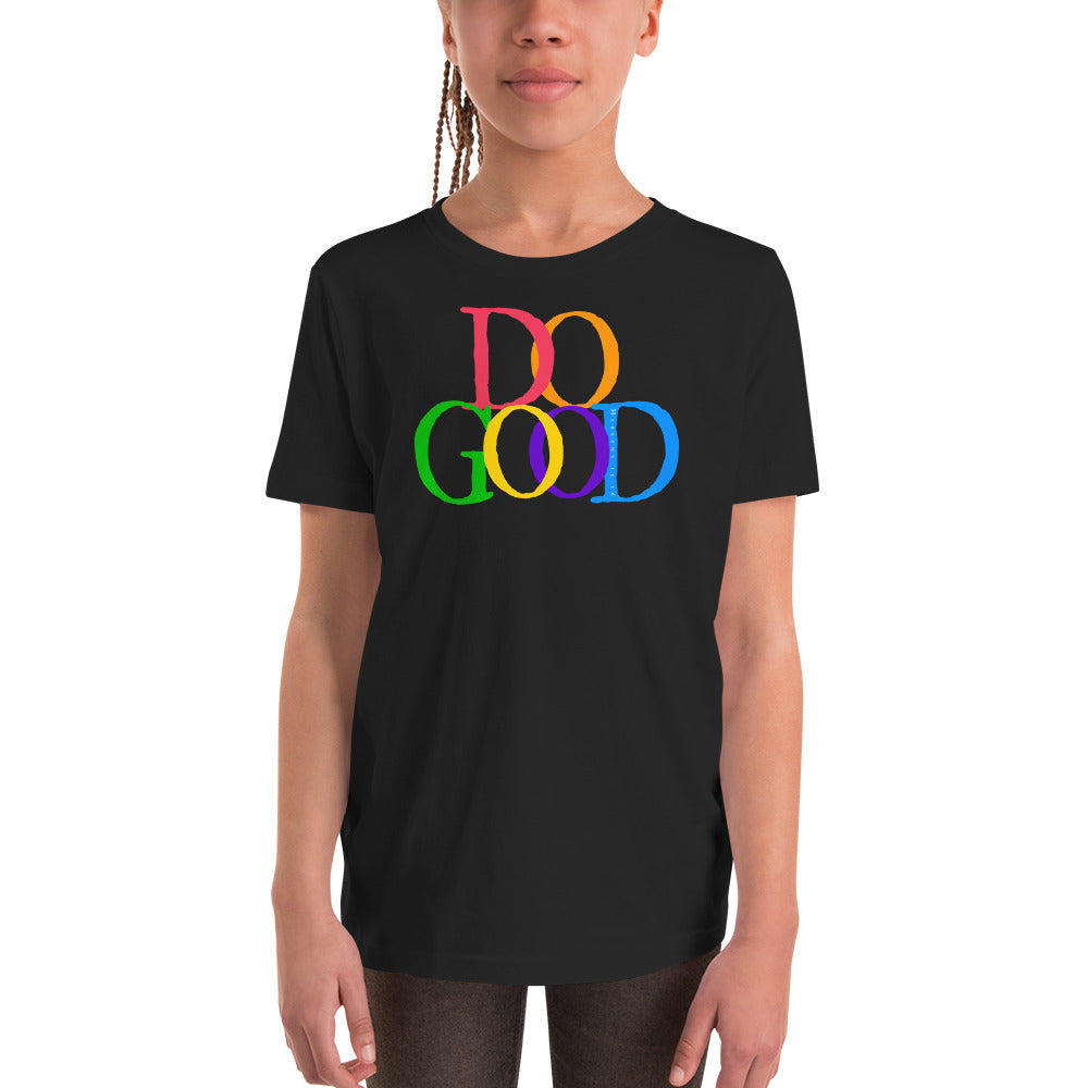 """Do Good"" Youth Short Sleeve T-Shirt"