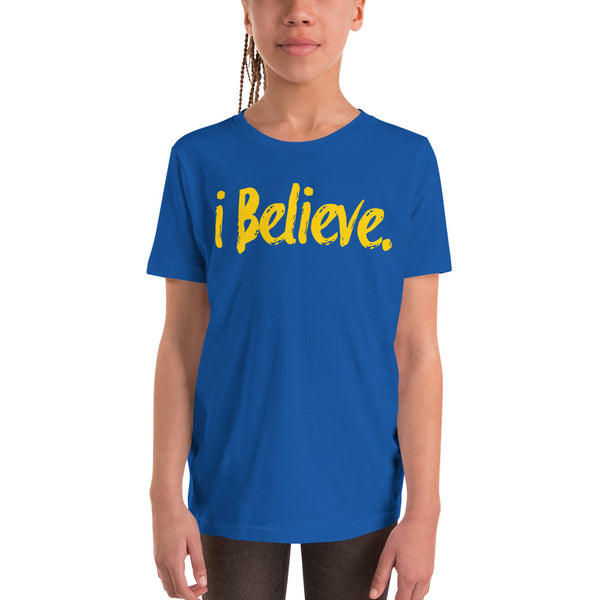 i Believe Youth Short Sleeve T-Shirt