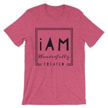 Load image into Gallery viewer, iAm Wonderfully Created -Short-Sleeve Unisex T-Shirt