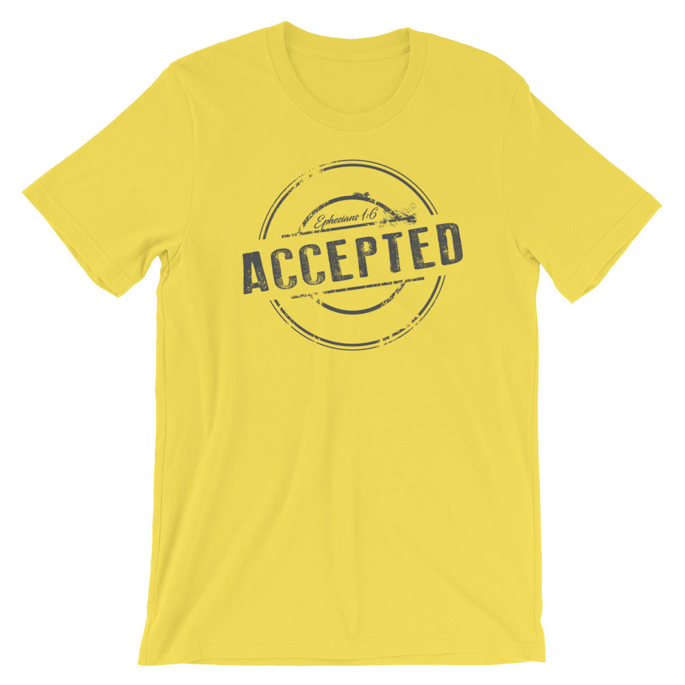 """Accepted "" Short-Sleeve Unisex T-Shirt"