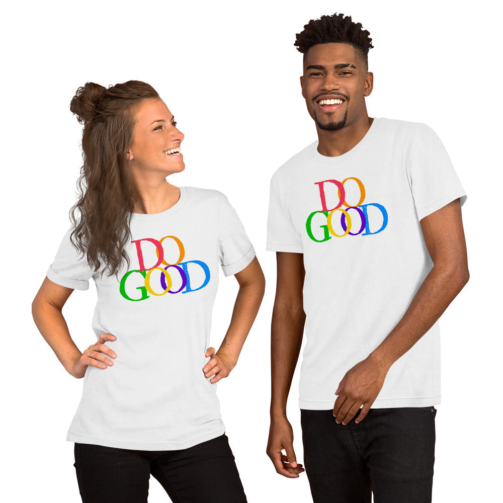 """Do Good"" Short-Sleeve Unisex T-Shirt"