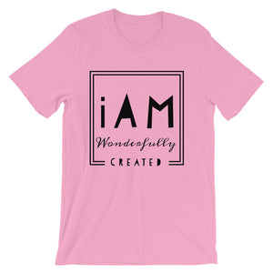 iAm Wonderfully Created -Short-Sleeve Unisex T-Shirt