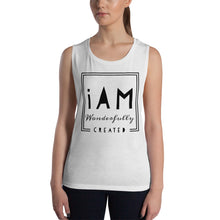 Load image into Gallery viewer, iAm Wonderfully Created - Ladies' Muscle Tank