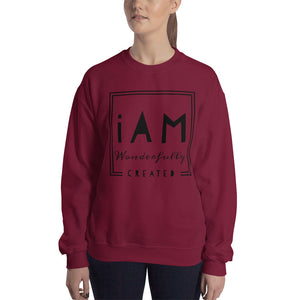 """iAm Wonderfully Created"" Sweatshirt"