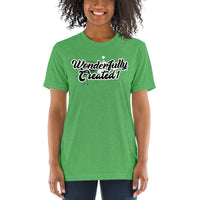 """Wonderfully Created1"" Graffiti  Unisex Short sleeve t-shirt"