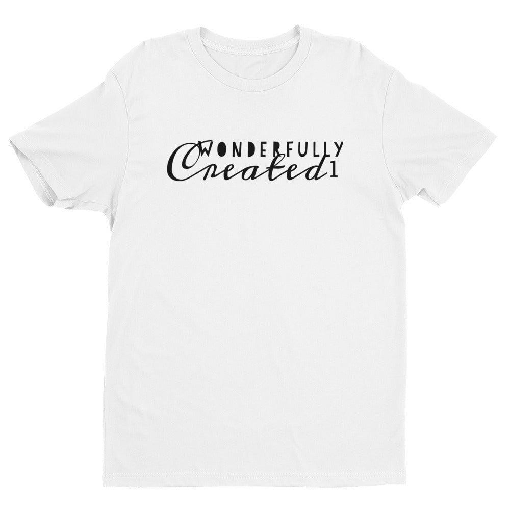 Wonderfully Created1 Logo T- Short Sleeve T-shirt -Unisex