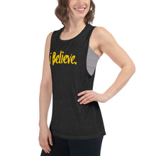 Load image into Gallery viewer, i Believe Ladies' Muscle Tank