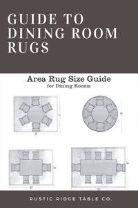 What Size Rug Do I Need Under My Dining Table?