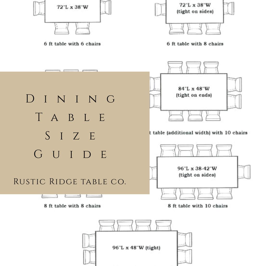 How Do I Know What Size Dining Table I Need?