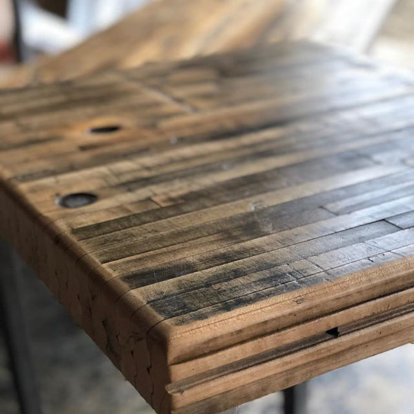 Maple Boxcar Coffee Table