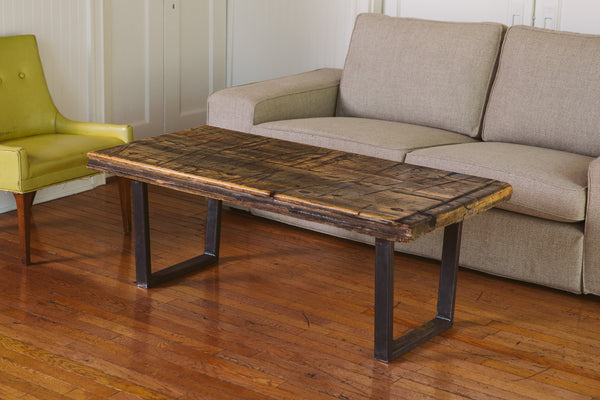Pine Boxcar Coffee Table