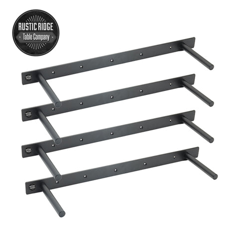 Heavy Duty Floating Shelf Brackets Set of 4