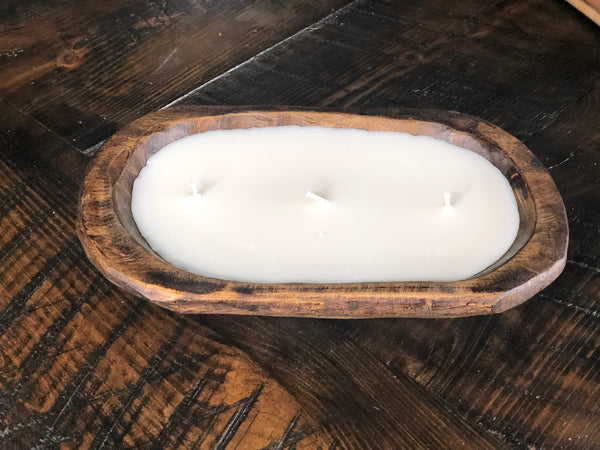 Mexican Dough Bowl Candle