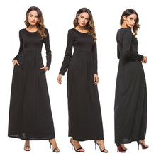 Full Length Evening Dress with Pockets