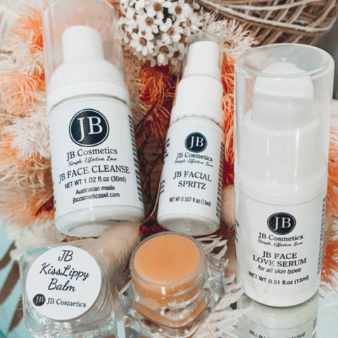 Travel skincare set
