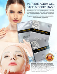 Peptide Aqua Gel Body Mask
