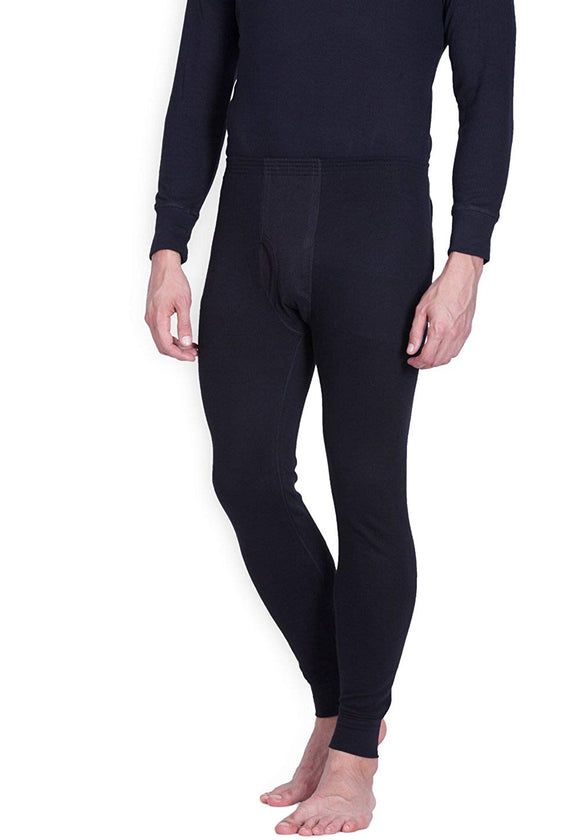 Men's Black Lower Thermal (THR-2)