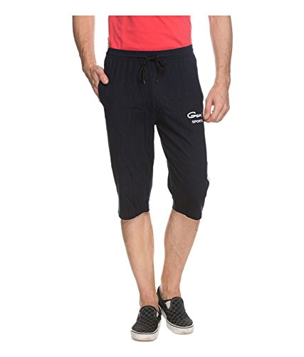 Genx Men's Capri  (CAPRI_601_Black)