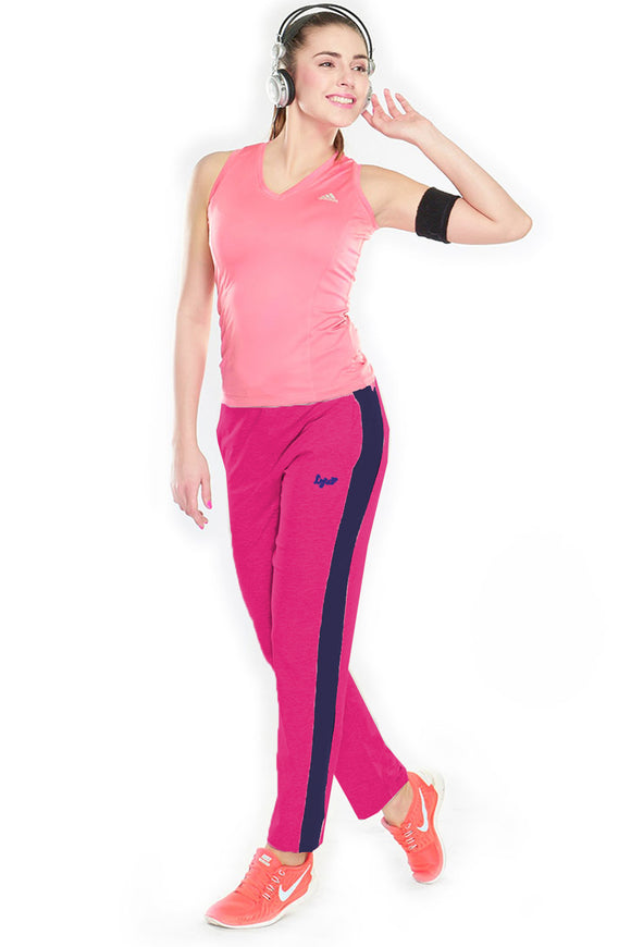 Dhanari New Generation Leisure Fushia Color Track Pant (TPA-301) A2