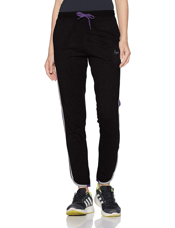 Dhanari Lyra Black Track Pant For Women's (TPA-1) A3